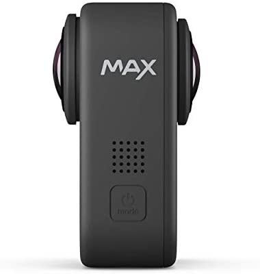 317Ht3dwGNL. AC  - GoPro MAX Waterproof 360 + Traditional Camera with Touch Screen Spherical 5.6K30 HD Video 16.6MP 360 Photos 1080p Live Streaming Stabilization (Renewed)