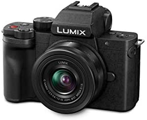 317nj3tS6FL. AC  - Panasonic LUMIX G100 4k Mirrorless Camera, Lightweight Camera for Photo and Video, Built-in Microphone, Micro Four Thirds with 12-32mm Lens, 5-Axis Hybrid I.S, 4K 24p 30p Video, DC-G100KK (Black)
