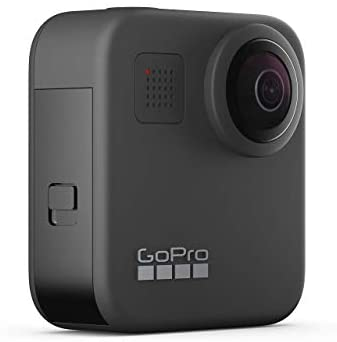 319tOWCXDcL. AC  - GoPro MAX Waterproof 360 + Traditional Camera with Touch Screen Spherical 5.6K30 HD Video 16.6MP 360 Photos 1080p Live Streaming Stabilization (Renewed)