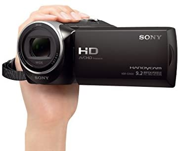 31Ke6kw5itL. AC  - Sony - HDRCX405 HD Video Recording Handycam Camcorder (black)