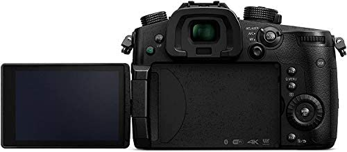 31Ob1B3UPIL. AC  - Panasonic LUMIX GH5 4K Digital Camera, 20.3 Megapixel Mirrorless Camera with Digital Live MOS Sensor, 5-Axis Dual I.S. 2.0, 4K 4:2:2 10-Bit Video, Full-Size HDMI Out, 3.2-Inch LCD, DC-GH5 (Black)