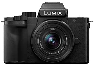 31UyL7LO4fL. AC  - Panasonic LUMIX G100 4k Mirrorless Camera, Lightweight Camera for Photo and Video, Built-in Microphone, Micro Four Thirds with 12-32mm Lens, 5-Axis Hybrid I.S, 4K 24p 30p Video, DC-G100KK (Black)