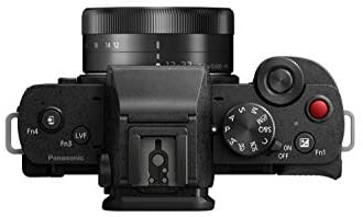 31VC7B2DpwL. AC  - Panasonic LUMIX G100 4k Mirrorless Camera, Lightweight Camera for Photo and Video, Built-in Microphone, Micro Four Thirds with 12-32mm Lens, 5-Axis Hybrid I.S, 4K 24p 30p Video, DC-G100KK (Black)
