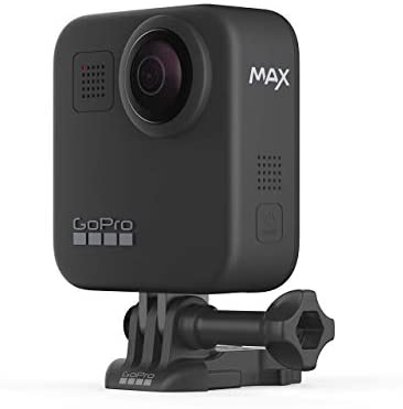 31eKPap09 L. AC  - GoPro MAX Waterproof 360 + Traditional Camera with Touch Screen Spherical 5.6K30 HD Video 16.6MP 360 Photos 1080p Live Streaming Stabilization (Renewed)