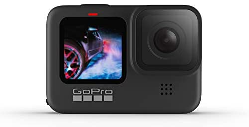 31iVay1EcAL. AC  - GoPro HERO9 Black - Waterproof Action Camera with Front LCD and Touch Rear Screens, 5K Ultra HD Video, 20MP Photos, 1080p Live Streaming, Webcam, Stabilization
