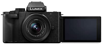 31u87B+1zeL. AC  - Panasonic LUMIX G100 4k Mirrorless Camera, Lightweight Camera for Photo and Video, Built-in Microphone, Micro Four Thirds with 12-32mm Lens, 5-Axis Hybrid I.S, 4K 24p 30p Video, DC-G100KK (Black)