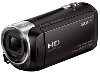 41+gqnbURjL. AC  - Sony - HDRCX405 HD Video Recording Handycam Camcorder (black)