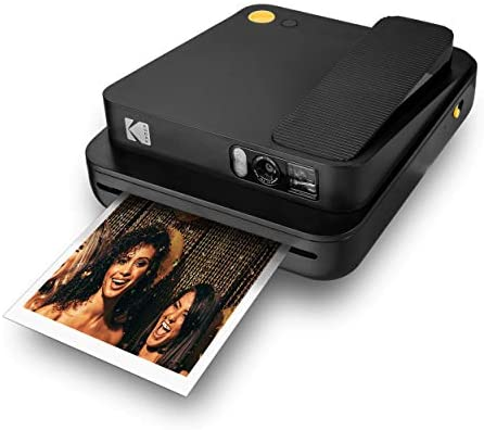 41 cz47R6QL. AC  - KODAK Smile Classic Digital Instant Camera for 3.5 x 4.25 Zink Photo Paper - Bluetooth, 16MP Pictures (Black)