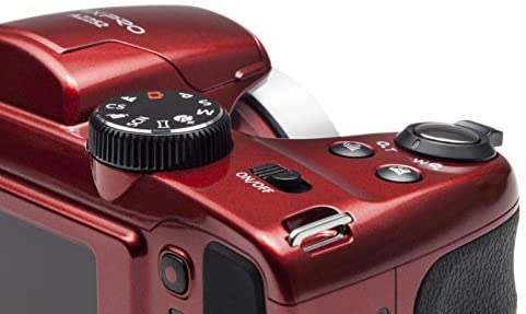 """416qUlFbUpL. AC  - Kodak PIXPRO Astro Zoom AZ252-RD 16MP Digital Camera with 25X Optical Zoom and 3"""" LCD (Red)"""