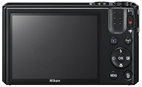 418DvP7oxPL. AC  - Nikon Coolpix S7000 16 MP Digital Camera with 20x Optical Image Stabilized Zoom 3-Inch LCD (Black)