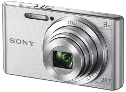 41EcJONlcML. AC  - Sony DSCW830 20.1 MP Digital Camera with 2.7-Inch LCD (Silver)