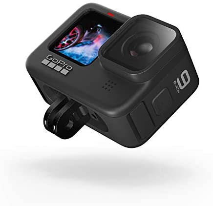 41Gl7K 8N3L. AC  - GoPro HERO9 Black - Waterproof Action Camera with Front LCD and Touch Rear Screens, 5K Ultra HD Video, 20MP Photos, 1080p Live Streaming, Webcam, Stabilization