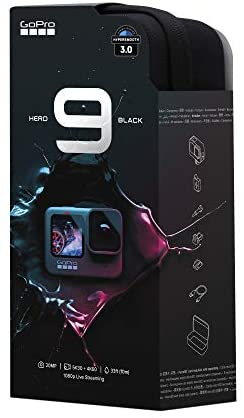 41Mn9F8EjAL. AC  - GoPro HERO9 Black - Waterproof Action Camera with Front LCD and Touch Rear Screens, 5K Ultra HD Video, 20MP Photos, 1080p Live Streaming, Webcam, Stabilization