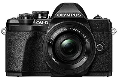41WAQ6tlB3L. AC  - Olympus OM-D E-M10 Mark III Camera Kit with 14-42mm EZ Lens (Black), Camera Bag & Memory Card, Wi-Fi Enabled, 4K Video, US Only