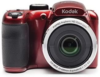 """41YDo9W0nrL. AC  - Kodak PIXPRO Astro Zoom AZ252-RD 16MP Digital Camera with 25X Optical Zoom and 3"""" LCD (Red)"""