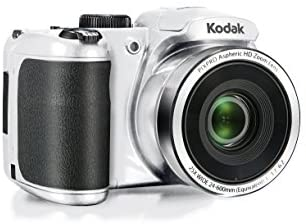 """41b1zwvJraL. AC  - Kodak PIXPRO Astro Zoom AZ252-WH 16MP Digital Camera with 25X Optical Zoom and 3"""" LCD (White)"""