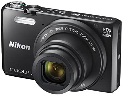 41i3A3CPQxL. AC  - Nikon Coolpix S7000 16 MP Digital Camera with 20x Optical Image Stabilized Zoom 3-Inch LCD (Black)