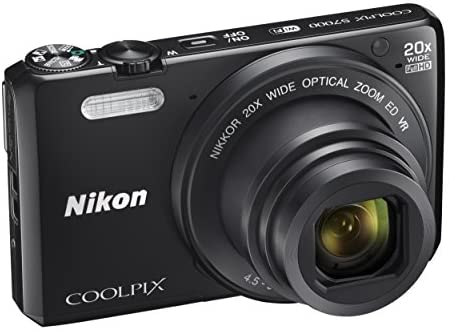 41kSn5feqVL. AC  - Nikon Coolpix S7000 16 MP Digital Camera with 20x Optical Image Stabilized Zoom 3-Inch LCD (Black)