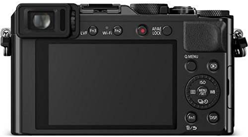 41lSxjg+MdL. AC  - Panasonic LUMIX LX100 4K Point and Shoot Camera, 3.1X LEICA DC VARIO-SUMMILUX F1.7-2.8 Lens with Power O.I.S., 12.8 Megapixel, DMC-LX100K (USA BLACK)