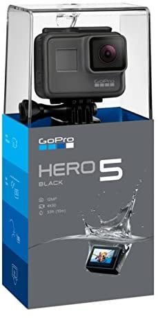 41pTdpsBpkL. AC  - GoPro Hero5 Black — Waterproof Digital Action Camera for Travel with Touch Screen 4K HD Video 12MP Photos