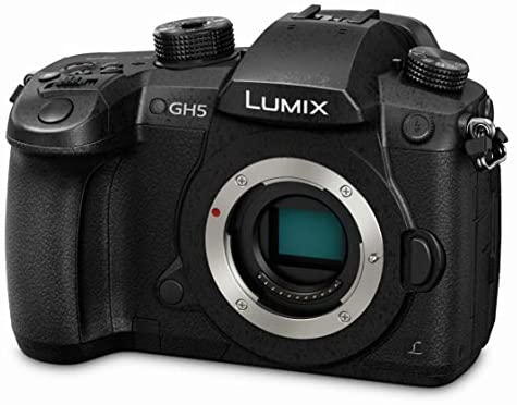 41qOGSRuG0L. AC  - Panasonic LUMIX GH5 4K Digital Camera, 20.3 Megapixel Mirrorless Camera with Digital Live MOS Sensor, 5-Axis Dual I.S. 2.0, 4K 4:2:2 10-Bit Video, Full-Size HDMI Out, 3.2-Inch LCD, DC-GH5 (Black)