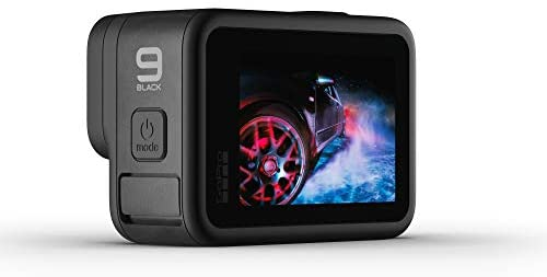 41wOjT5uNyL. AC  - GoPro HERO9 Black - Waterproof Action Camera with Front LCD and Touch Rear Screens, 5K Ultra HD Video, 20MP Photos, 1080p Live Streaming, Webcam, Stabilization