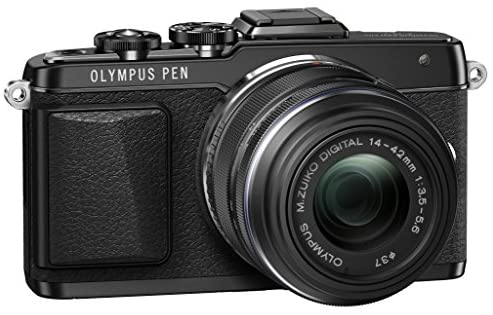 518QQ0hQVOL. AC  - Olympus E-PL7 16MP Mirrorless Digital Camera with 3-Inch LCD with 14-42mm IIR Lens (Black)