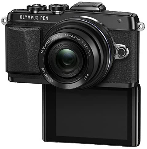 51GCCNmvjLL. AC  - Olympus E-PL7 16MP Mirrorless Digital Camera with 3-Inch LCD with 14-42mm IIR Lens (Black)