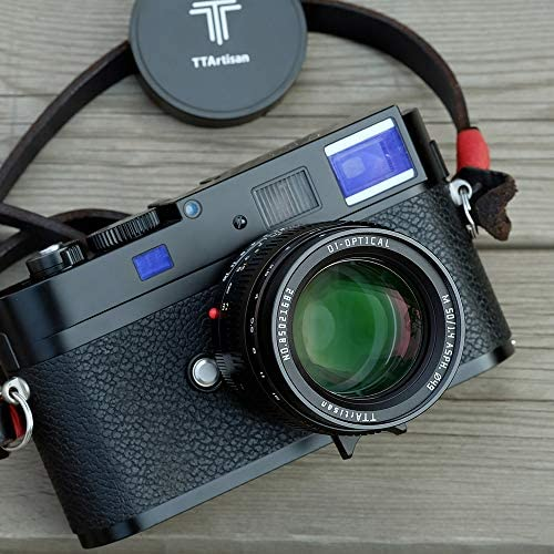 51Z2bY31mtL. AC  - TTartisans 50mm F1.4 Manual Focus Full-Frame Format Standard & Medium Telephoto Lens Compatible with Leica M-Mount, Leica M240, Leica M3, Leica M6, Leica M7, Leica M8, Leica M9, M9p, M10