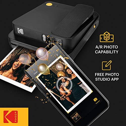 51Za9HXdwKL. AC  - KODAK Smile Classic Digital Instant Camera for 3.5 x 4.25 Zink Photo Paper - Bluetooth, 16MP Pictures (Black)