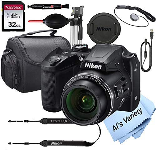 51fWKM8zpRL. AC  - Nikon COOLPIX B500 16 MegaPixel Digital Camera + 32GB Card, Tripod, Case and More (13pc Bundle)