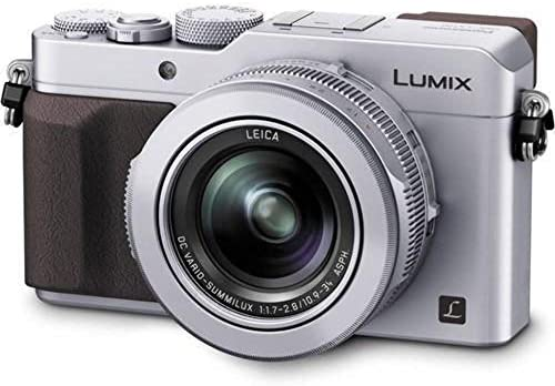 51hgowdk4yL. AC  - Panasonic LUMIX LX100 4K Point and Shoot Camera, 3.1X LEICA DC VARIO-SUMMILUX F1.7-2.8 Lens with Power O.I.S., 12.8 Megapixel, DMC-LX100K (USA BLACK)