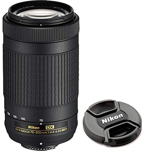 1618270289 173 41Oc3U55bwL. AC  - Nikon D5600 DSLR Camera Kit with 18-55mm VR + 70-300mm Zoom Lenses | Built-in Wi-Fi | 24.2 MP CMOS Sensor | EXPEED 4 Image Processor and Full HD 1080p | SnapBridge Bluetooth Connectivity