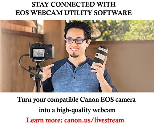 1618532911 538 51Gwl6Tg+pL. AC  - Canon DSLR Camera [EOS 90D] | Vlogging Video Creator Kit with Stereo Microphone DM-E100, 32GB SDHC Memory Card and Windscreen Accessory for Outdoor Recording