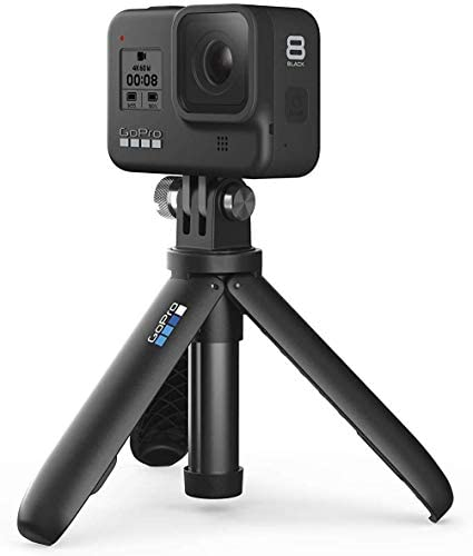 1618799296 982 41+Q6hl63HL. AC  - GoPro Hero 8 Action Camera with 2 Total Batteries, Two Sandisk 32GB Extreme MicroSD Cards, GoPro Shorty Tripod, Head Mount Strap, Camera Case, Card Reader and Cleaning Cloth