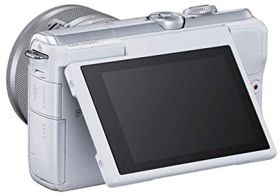 315k5HqSIUL. AC  - Canon EOS M200 Compact Mirrorless Digital Vlogging Camera with EF-M 15-45mm Lens, Vertical 4K Video Support, 3.0-inch Touch Panel LCD, Built-in Wi-Fi, and Bluetooth Technology, White
