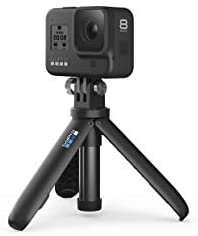 316+M2 kqAL. AC  - GoPro Hero8 Black Holiday Bundle - Includes Hero8 Black Camera Plus Shorty, Head Strap, 32GB SD Card, and 2 Rechargeable Batteries