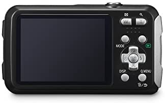 3180STErqlL. AC  - Panasonic LUMIX Waterproof Digital Camera Underwater Camcorder with Optical Image Stabilizer, Time Lapse, Torch Light and 220MB Built-In Memory – DMC-TS30K (Black)