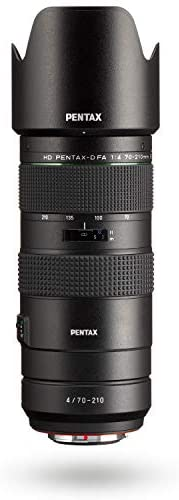 31FQ1 w1KXL. AC  - HD PENTAX-D FA 70-210mm F4ED SDM WR: Telephoto zoom lens for DSLR cameras High-performance while maintaing constant f/4 aperture Weather-resistant construction min. focusing distance of 0.95 meters