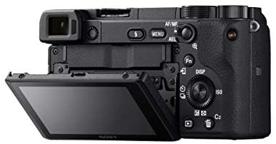 31FzNClffsL. AC  - Sony Alpha a6400 Mirrorless Camera: Compact APS-C Interchangeable Lens Digital Camera with Real-Time Eye Auto Focus, 4K Video, Flip Screen & 18-135mm Lens - E Mount Compatible Cameras - ILCE-6400M/B
