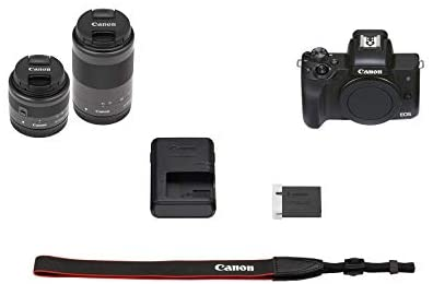 31Gb3z2v5oL. AC  - Canon EOS M50 Mark II (Black) + EF-M 15-45mm & EF-M 55-200mm is STM Bundle