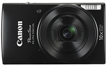 31GkstIX8ZL. AC  - Canon Cameras US 1084C001 Canon PowerShot ELPH 190 Digital Camera w/ 10x Optical Zoom and Image Stabilization - Wi-Fi & NFC Enabled (Black)