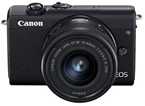 31IR+xdE0kL. AC  - Canon EOS M200 Compact Mirrorless Digital Vlogging Camera with EF-M 15-45mm Lens, Vertical 4K Video Support, 3.0-inch Touch Panel LCD, Built-in Wi-Fi, and Bluetooth Technology, Black