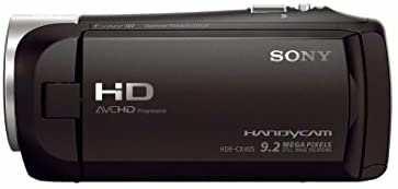 31PIrCuQpQL. AC  - Sony CX405 Handycam 1080p Camcorder with 32GB SD Card and Accessory Bundle