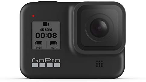 31TEODDJZbL. AC  - GoPro HERO8 Black - Waterproof Action Camera with Touch Screen 4K Ultra HD Video 12MP Photos 1080p Live Streaming Stabilization
