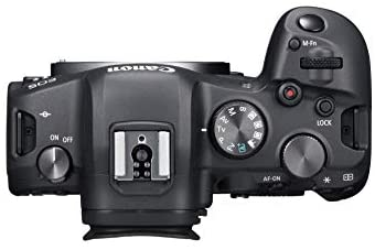 31VD7sgrphL. AC  - Canon EOS R6 Full-Frame Mirrorless Camera with 4K Video, Full-Frame CMOS Senor, DIGIC X Image Processor, Dual UHS-II SD Memory Card Slots, and Up to 12 fps with Mechnical Shutter, Body Only, Black