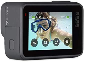 31Y UQsumrL. AC  - GoPro HERO7 Silver Waterproof Digital Action Camera with Touch Screen 4K HD Video 10MP Photos (Renewed)