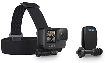 31gpwX5S9QL. AC  - GoPro HERO9 Black, Sports and Action Camera Bundle with Adventure Kit, 32GB microSD Card, Card Reader