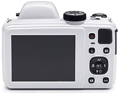 31iDyU9T+4L. AC  - Kodak PIXPRO Astro Zoom AZ421 16MP Digital Camera (White) with Kodak 32GB SD Card, Focus DSLR Camera Accessory Kit, Vidpro Battery Charger and Replacement Lithium Ion Battery Bundle (5 Items)