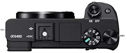 31lKCcMyPtL. AC  - Sony Alpha a6400 Mirrorless Camera: Compact APS-C Interchangeable Lens Digital Camera with Real-Time Eye Auto Focus, 4K Video, Flip Screen & 18-135mm Lens - E Mount Compatible Cameras - ILCE-6400M/B